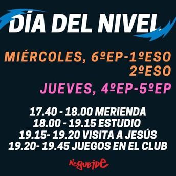 MIÉRCOLES Y JUEVES / 4ºEP - 1º ESO