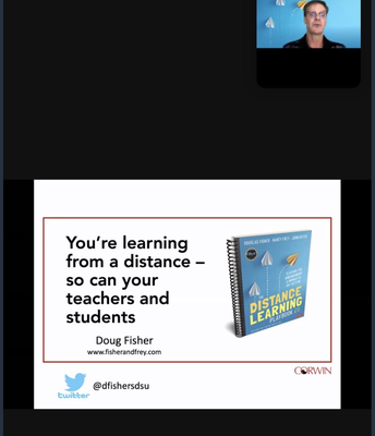 Student Engagement in Distance Learning with Dr. Doug Fisher