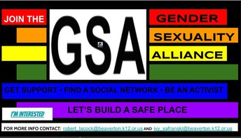 Gender Sexuality Alliance