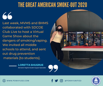 The Great American Smokeout 2020