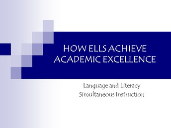 Expect Excellence From Every English Learner