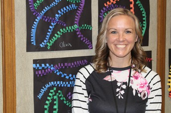 MUSTANG SPOTLIGHT - MRS. CANDIS SWIGER, EDUCATIONAL AIDE AT WHITNEY ELEMENTARY