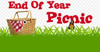 SCHOOL PICNIC - Wednesday, MAY 29th