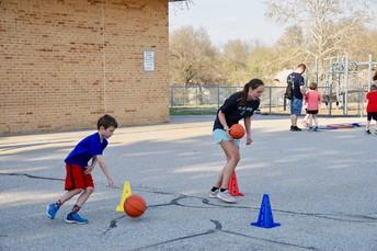 Ball Control Race