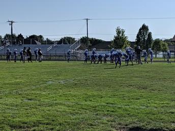 7th Grade Football Defeats Logan