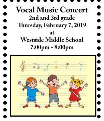 2nd/3rd Grade Vocal Music Concert