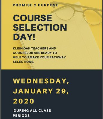Course Selection Day!