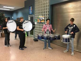 LCHS Drum Line
