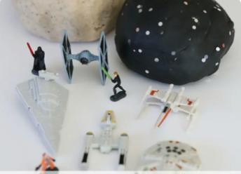 Star Wars Play Dough!