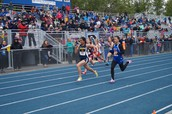 100 M State Finals Race
