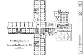 Proposed New School Floor Plan