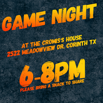 Game Night: Sunday