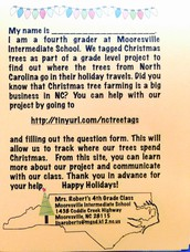 MIS Students track Christmas Trees around the Country!