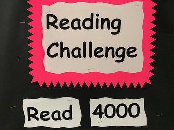 Reading Challenge - 4,000 Hours!