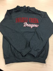 Glitter hoodie-Grey