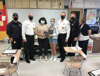 Community Service in Inaction by SMWest Spanish Students
