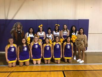 2019-2020 Cheerleaders & Mascots