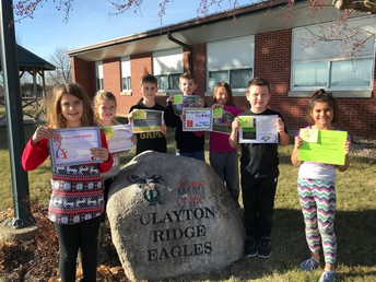 4th Grade Eagle Awards for Academics and Character