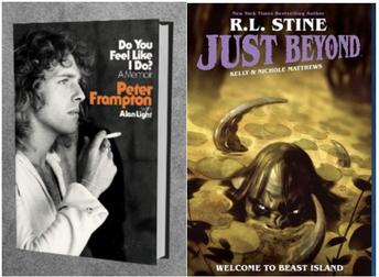 Peter Frampton and R.L. Stine Livestream Author Talks