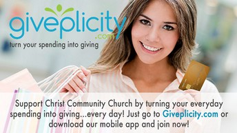 Support Christ Community Church by Turning Your Everyday Spending into Giving!