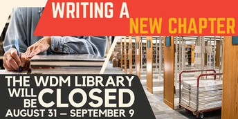 West Des Moines Library Closed 10 Days for Next Phase of Renovation