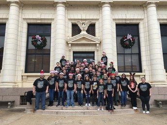 SMS Band Spreads Holiday Spirit in the Community!