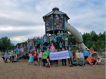 Oakview dedicates its new playground on May 7, 2018