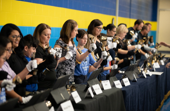 Handbells Reunion at Borman 50th Anniversary