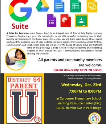 District 64 Parent U