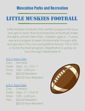 Little Muskies Football