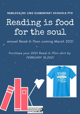 Order your March is Reading Month Shirt!