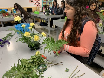 Texas State Florists in the Making!
