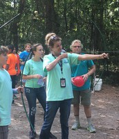 Learning Archery at Camp Don Lee