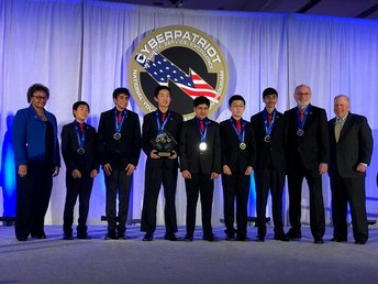 Oak Valley Middle School Teams Win National Cyber Competition