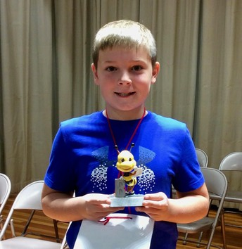Picture of Luke Hill Runner - up FRES Spelling Bee