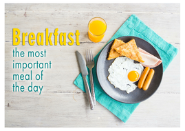 Cafeteria Breakfast Cart is Back