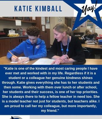 Ms. Kimball
