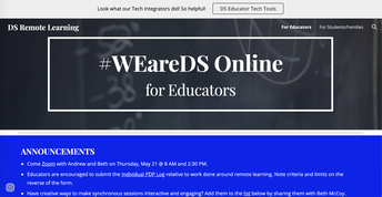 WE ARE DS ONLINE FOR EDUCATOR'S