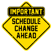 Rotation and Schedule Changes