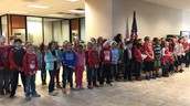 Singing at Spring Hill State Bank
