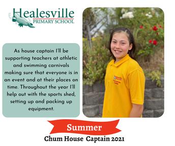 Summer - Chum House Captain