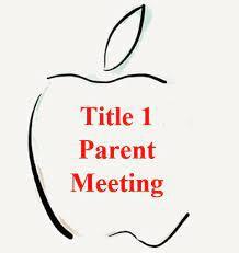 Title I Parent Planning Meeting