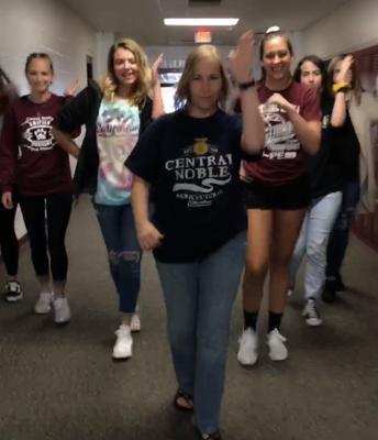 Sometimes, our brain breaks in SAT Prep look like coordinated dances.