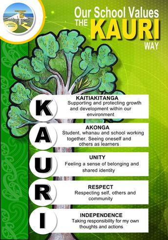KAURI values and PB4L