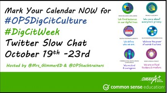 OPS #DigCit Week Twitter Slow Chat