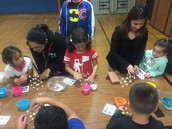 Marshmallow Tower Building @ Family Math Night