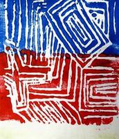 4th Grade - Nonobjective Print