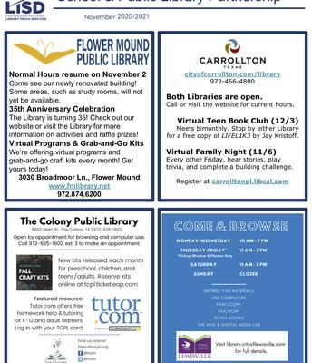 Public Library Flyer
