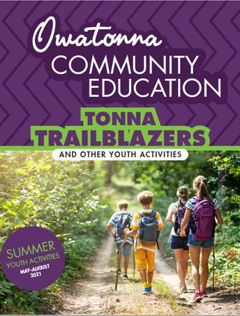 Cover of Summer Activities Brochure