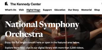 National Symphony Orchestra Digital Stage
